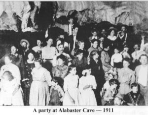 Cool Cave Party-Alabaster Cave 1911